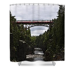 Helvetefallet Dalarna Sweden Shower Curtain