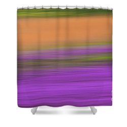 Shower Curtain featuring the photograph Henbit Abstract - D010049 by Daniel Dempster