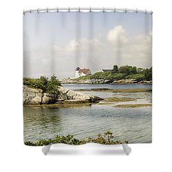 Hendricks Head Lighthouse Shower Curtain