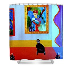 Henri Remembers Shower Curtain
