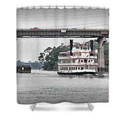 Shower Curtain featuring the photograph Henrietta IIi by Phil Mancuso