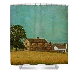 Henry House At Manassas Battlefield Park Shower Curtain