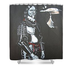 Henry Ireton Shower Curtain