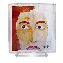 Her Fading Ways Shower Curtain