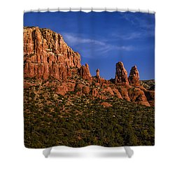 Shower Curtain featuring the photograph Her Majesty by Mark Myhaver