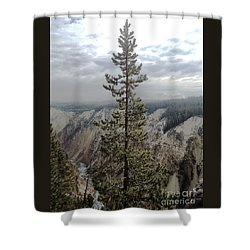 Her Majesty Yellowstone National Park Shower Curtain