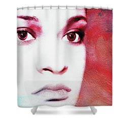 Her Soul Shower Curtain