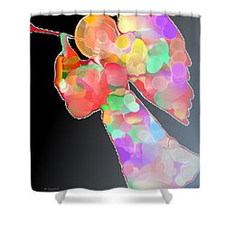 Herald Shower Curtain