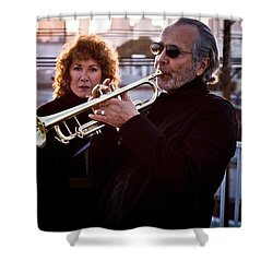 Herb Alpert Shower Curtain