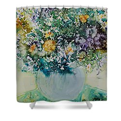 Herbal Bouquet Shower Curtain