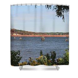 Herbert C. Jackson Shower Curtain