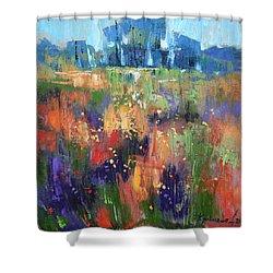 Herbs Shower Curtain by Anastasija Kraineva