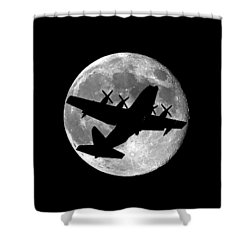 Hercules Moon .png Shower Curtain