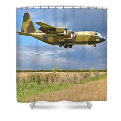 Hercules Xv222 Shower Curtain