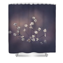 Shower Curtain featuring the photograph Here And There by Shane Holsclaw