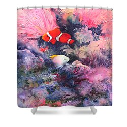 Here Comes Nemo Shower Curtain