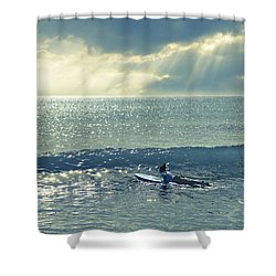 Here Comes The Sun Shower Curtain