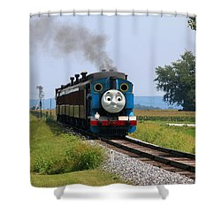 Here Comes Thomas The Train Shower Curtain