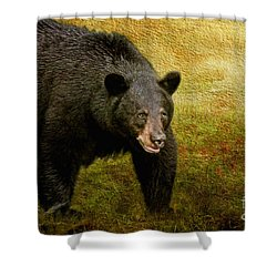 Here Comes Trouble Shower Curtain by Lois Bryan