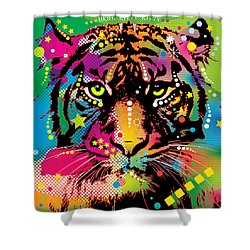 Here Kitty Shower Curtain