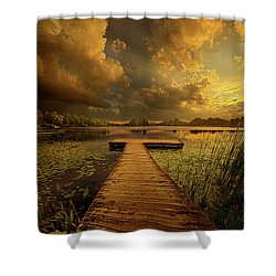 Here Nothing Else Matters Shower Curtain