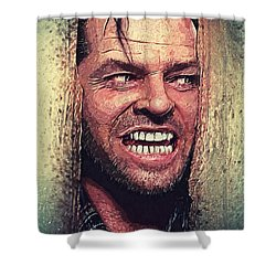 Here's Johnny - The Shining  Shower Curtain