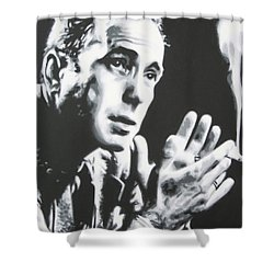 Heres Looking At You Kid Shower Curtain by Luis Ludzska