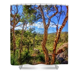 Heritage View, John Forest National Park Shower Curtain