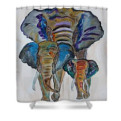 Heritage Walk Shower Curtain