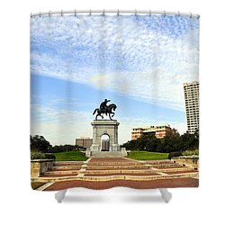 Herman Park 3 Shower Curtain