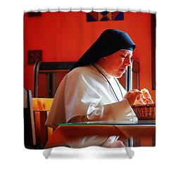 Hermana Shower Curtain by Skip Hunt