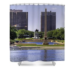 Hermann Park Shower Curtain