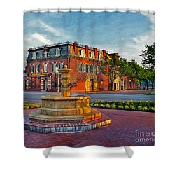 Hermannhof Festhalle Shower Curtain by William Fields