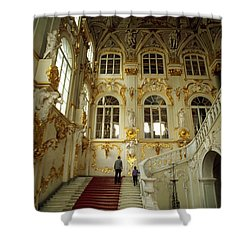 Hermitage Staircase Shower Curtain