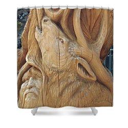 Herne's Song Shower Curtain