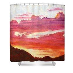 Sunset Shower Curtain