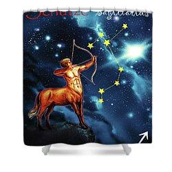 Hero Of The Stars Shower Curtain