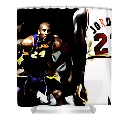Heroes Come And Go But Legends Are Forever Shower Curtain