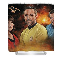 Heroes Of The Farragut Shower Curtain