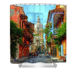 Heroic City, Cartagena De Indias Colombia Shower Curtain