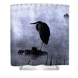 Heron 4 Shower Curtain