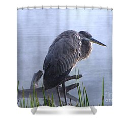 Heron 5 Shower Curtain