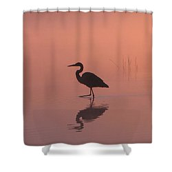 Heron Collection 1 Shower Curtain