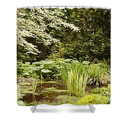 Herronswood Wetlands Shower Curtain
