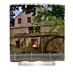 Herr's Grist Mill Shower Curtain