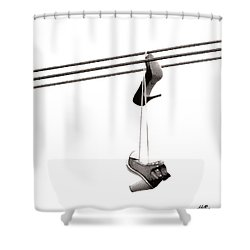 Hers Shower Curtain by Linda Hollis