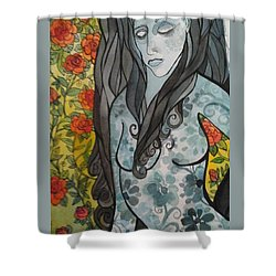 Hesitation Shower Curtain