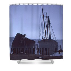Hesper And Luther Little Shower Curtain