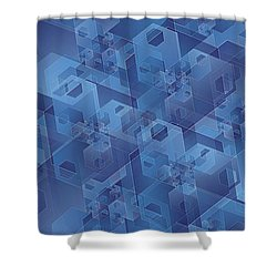 Hexentricity 1 Shower Curtain