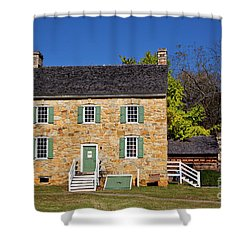 Hezekiah Alexander Homesite Shower Curtain